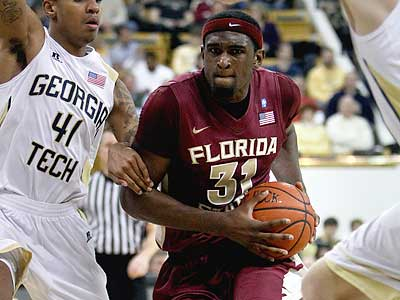 Could Florida State´s Chris Singleton fall to the Sixers at No. 16? (David Goldman/AP)