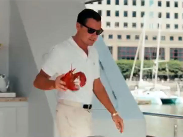 Just throwing a lobster at investigators.