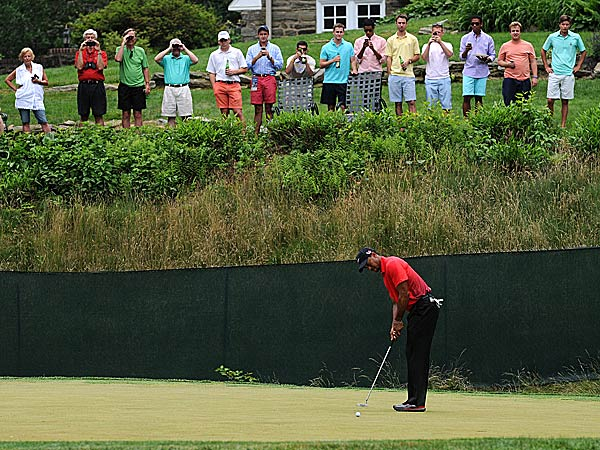 This Open wouldn´t have happened had Merion not received help from Haverford College and many of its neighbors. (Matt Smith/AP)