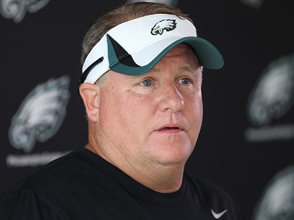 Eagles head coach Chip Kelly. (Michael Bryant/Staff Photographer)