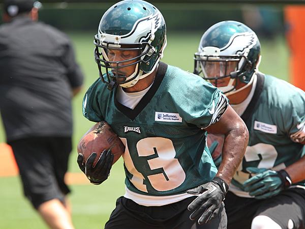 Eagles running back Darren Sproles. (Michael Bryant/Staff Photographer)
