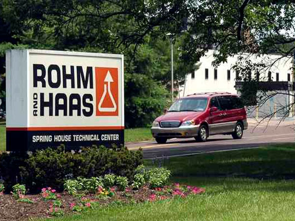 The former Rohm & Haas´ Spring House Technical Center, Spring House, Pa. (File photo)