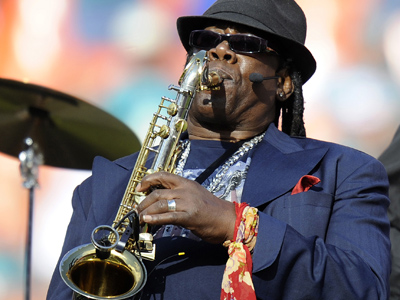 Clarence Clemons, the 69-year-old saxophonist for Bruce Springsteen´s E Street Band, died Saturday, according to multiple sources.  (AP Photo/Rhona Wise, File)
