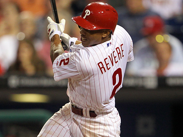 Phillies center fielder Ben Revere. (Yong Kim/Staff Photographer)
