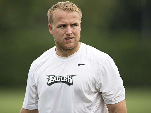 Eagles quarterback Matt Barkley. (Matt Rourke/AP)