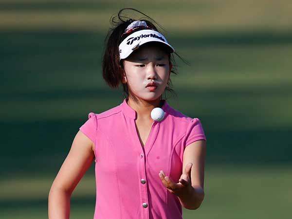 Only 11, Lucy Li prepares to tee off in U.S. Women's Open ...