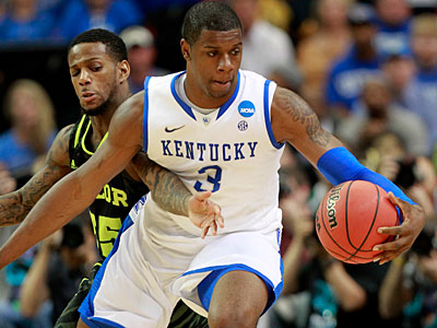 Kentucky forward Terrence Jones could be an option for the Sixers with the 15th pick. (AP Photo / John Bazemore)