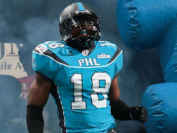 Philadelphia Soul linebacker Joe Goosby. (Photo courtesy of the Philadelphia Soul)