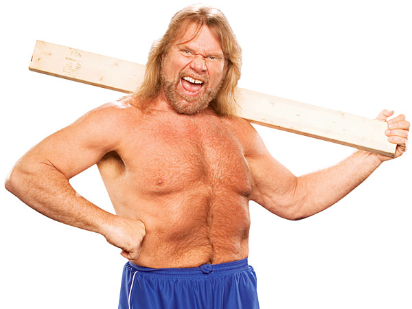 WWE Hall of Famer Jim Duggan. (©2014 WWE, Inc. All Rights Reserved)