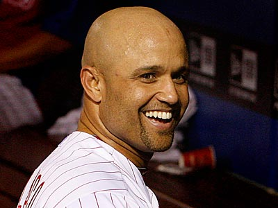Placido Polanco leads third basemen in the National League All Star voting. (Ron Cortes/Staff Photographer)