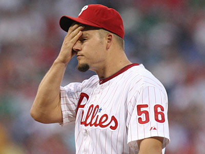 The Orioles have reportedly asked the Phillies for Joe Blanton´s medical records. (Steven M. Falk/Staff file photo)