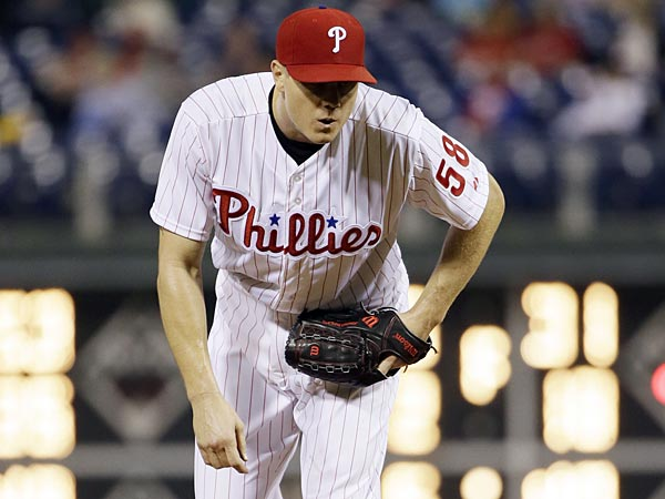Philadelphia Phillies closer Jonathan Papelbon. (Matt Slocum/AP)
