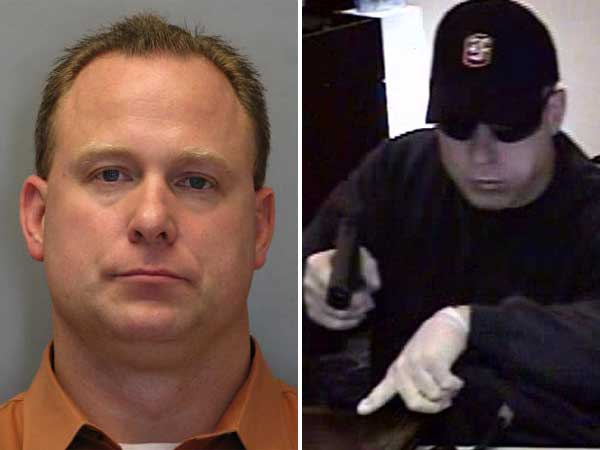 Delaware State Police say Joseph F. Mieluchowski, of Landenberg in Chester County, is accused of committing seven armed bank robberies in Delaware between June 2009 and July 2011.