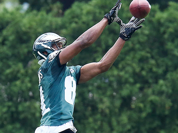 Eagles rookie wide receiver Jordan Matthews. (Bill Streicher/USA TODAY Sports)