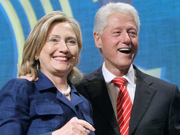 Hillary and Bill Clinton. (AP Photo)