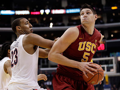 The Sixers selected USC center Nikola Vucevic with the 16th overall pick in the first round. (Jae C. Hong/AP file photo)