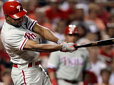 Ben Francisco hit the game-winning single during Tuesday´s game, but he lacks the consistency Charlie Manuel is hoping for. (Jeff Roberson/AP)