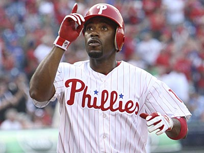 Jimmy Rollins hit a solo home run to lead off the Phillies against the Rockies on Thursday. (Steven M. Falk/Staff Photographer)