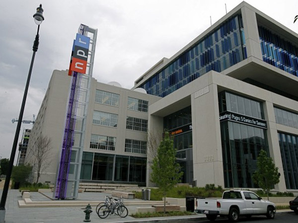 The 400,000-square-foot complex in Washington that now houses NPR. It cost $201 million, a bit more than NPR´s annual operating budget for fiscal 2013.