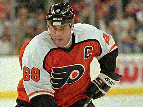 Former Flyers captain Eric Lindros. (Ed Nessen/AP file photo)