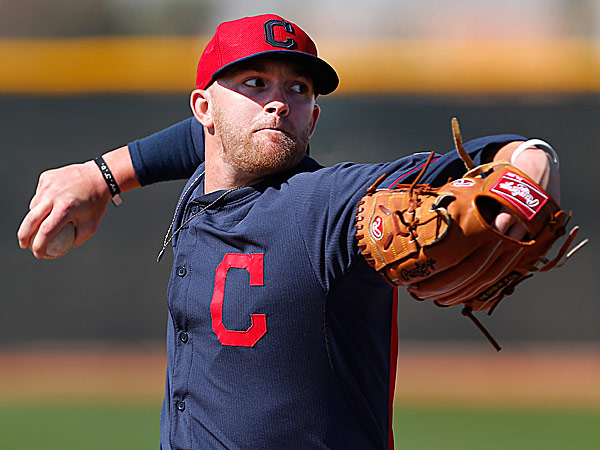 Indians pitcher Tyler Cloyd. (Paul Sancya/AP)