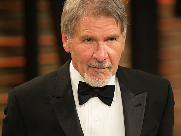 Harrison Ford attends 2014 Vanity Fair Oscar Party at Sunset Plaza. (Brian To/WENN.com)<br />