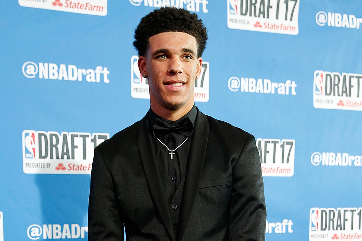 Lonzo Ball.