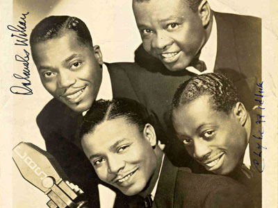 The Golden Gate Quartet in &quot;Rejoice &amp; Shout.&quot; (Photo courtesy of Magnolia Pictures)