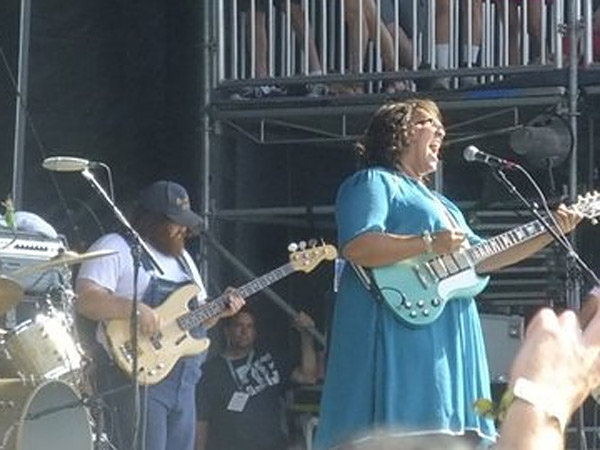 Alabama Shakes at Firefly. (Photo by Dan DeLuca)