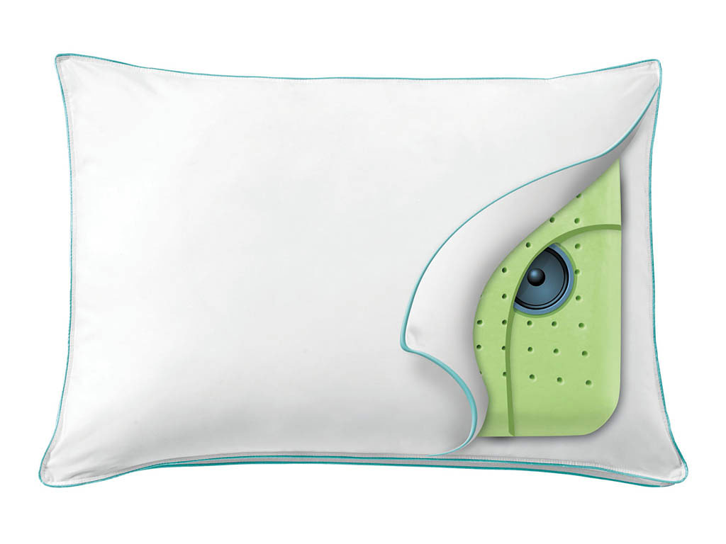 Gizmo Guy rates pillows with speakers inside