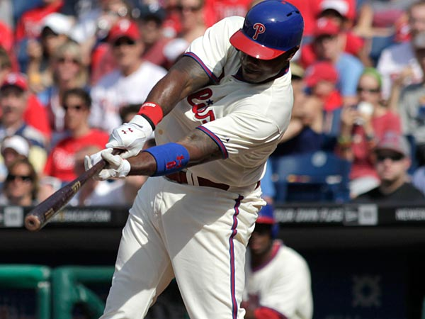 Has Ryan Howard changed his stance? (AP Photo/H. Rumph Jr)