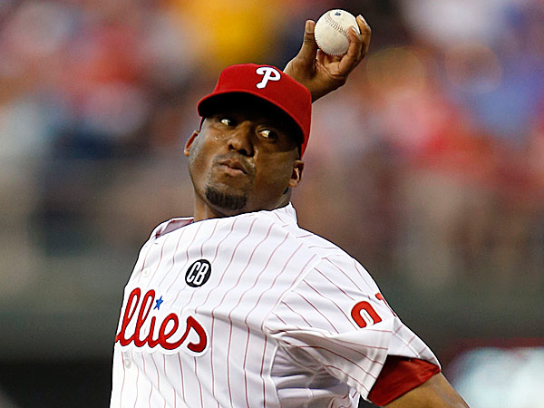 Phillies starting pitcher Roberto Hernandez. (Yong Kim/Staff Photographer)