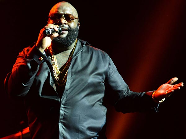 Rick Ross, Rick Ross performing in concert at the James L. Knight International Center. (Johnny Louis/WENN.com)