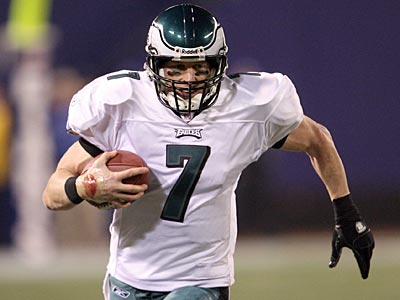 """Philly´s the team my wife will let me go back and play for,"" former Eagle Jeff Garcia said. (Yong Kim/Staff file photo)"
