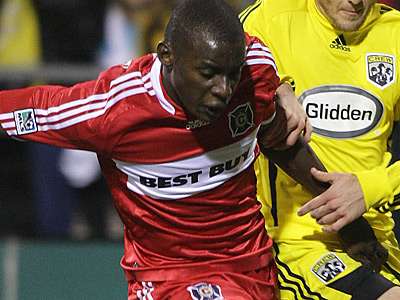 The Union have reportedly acquired former Chicago Fire defender Bakary Soumare. (AP file photo)