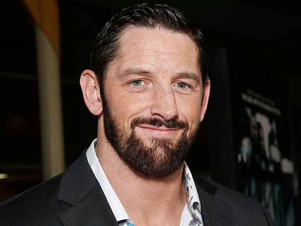 "Wade Barrett arrives at the world premiere of ""Dead Man Down"" at the Archlight Hollywood on Tuesday , Feb. 26, 2013 in Los Angeles. (Photo by Todd Williamson/Invision/AP)"