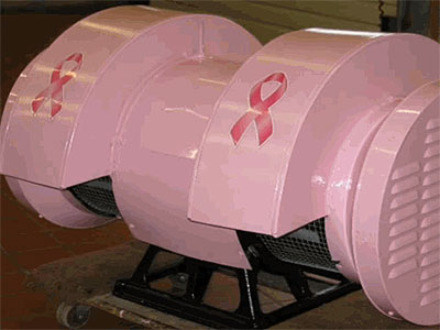 Every time somebody donates money for breast cancer research, Wyndmoor Hose Company No. 1 will sound this pink siren. (Photo: PinkSiren.org)