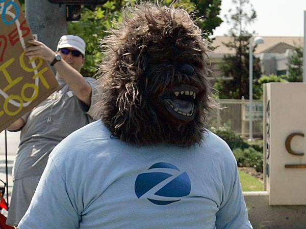 This is not the Bigfoot who will be at Coca-Cola Park. (AP Photo/Ben Margot)