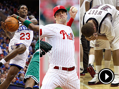 The Sixers may need a new shooter to replace Lou Williams, and the Phillies shouldn´t sell Hamels. (Staff and AP photos)