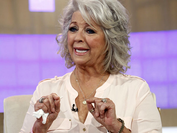 "In this publicity image released by NBC, celebrity chef Paula Deen appears on NBC News´ ""Today"" show, wednesday, June 26, 2013 in New York. Deen dissolved into tears during a ""Today"" show interview Wednesday about her admission that she used a racial slur in the past.  The celebrity chef, who had backed out of a ""Today"" interview last Friday, said she was not a racist and was heartbroken by the controversy that began with her own deposition in a lawsuit. Deen has been dropped by the Food Network and as a celebrity endorser by Smithfield Foods. (AP Photo/NBC, Peter Kramer)"