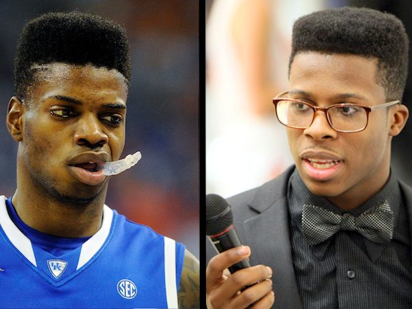 Nerlens Noel, left, and Tyler Tynes, right.
