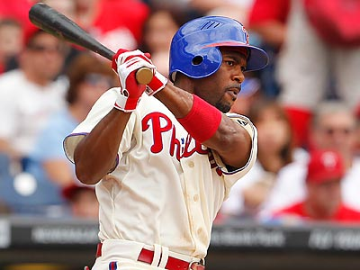Jimmy Rollins is hitting .300 this season against every team in the NL East, except the Braves. (Ron Cortes/Staff file photo)