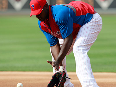 """My Achilles is fine. That´s a non-factor to me,"" Ryan Howard said on Wednesday. (Yong Kim/Staff Photographer)"