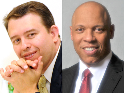 Pedro Martinez (left) currently works in Clark County, Nev. William R. Hite Jr. (right) leads a school district in Maryland.