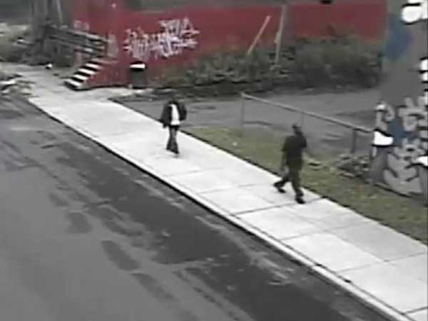Suspects in a June 10 home invasion in North Philadelphia in which a man in a wheelchair was attacked.