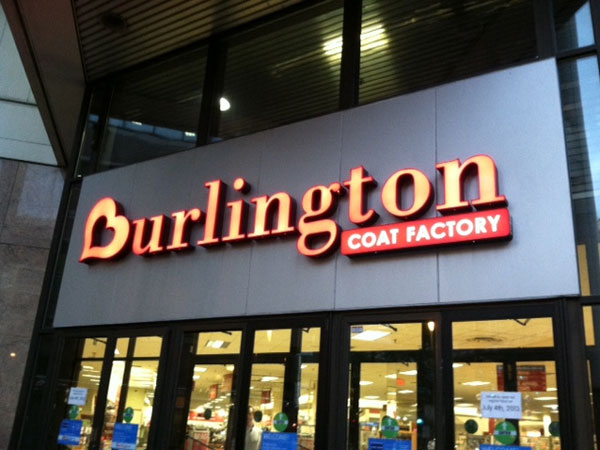 Burlington Coat Factory store on East Market Street, Philadelphia. June 2013 (Reid Kanaley / Staff)