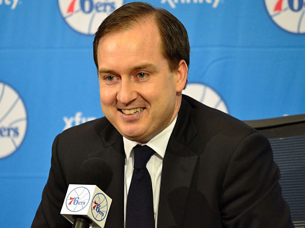 76ers general manager Sam Hinkie. (C.F. Sanchez/Staff file photo)