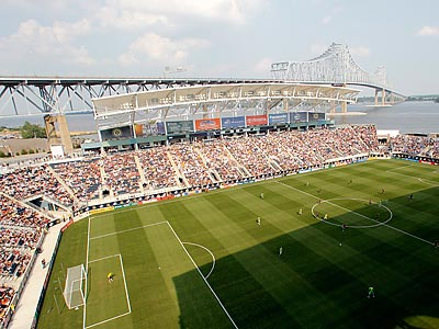 It wasn´t the World Cup, but the Philadelphia Union´s first game at PPL Park drew a full house. (Yong Kim/Staff Photographer)