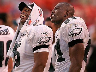 What if Donovan McNabb and Terrell Owens had played together longer? (Ron Cortes / Staff Photographer)