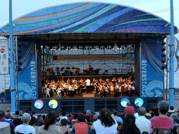 The Philadelphia Orchestra will add a classical touch to the city´s Fourth of July festivities.